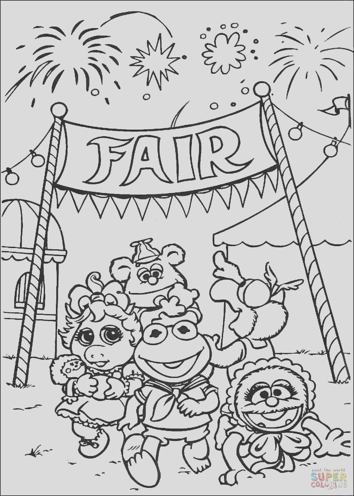 muppet babies goes to fair market
