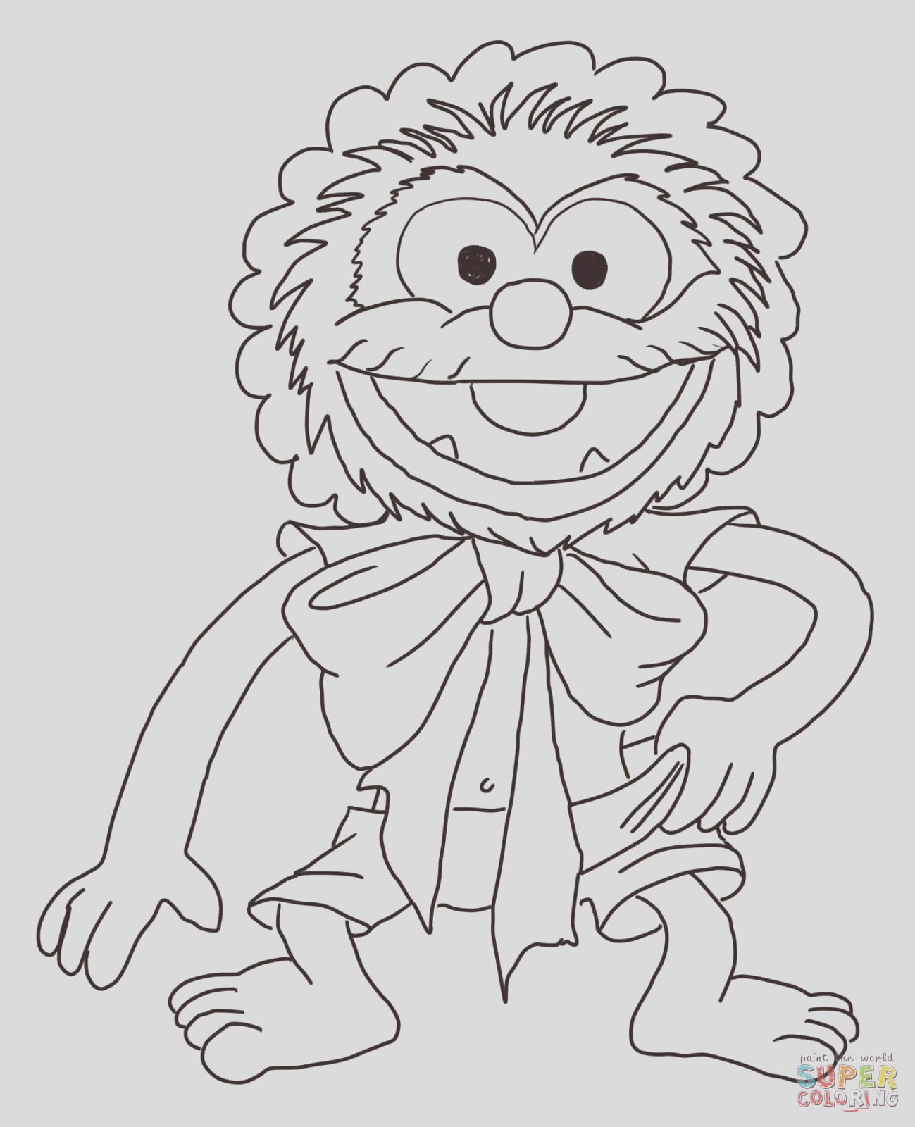 happy birthday from the muppets animal
