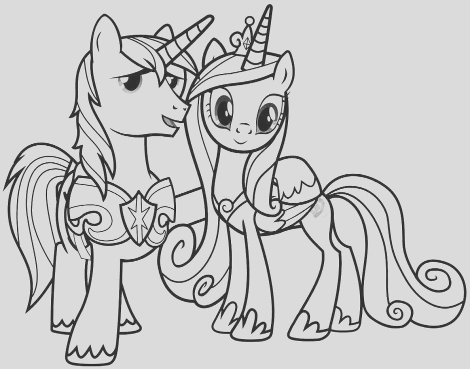 my little pony princess cadence coloring pages