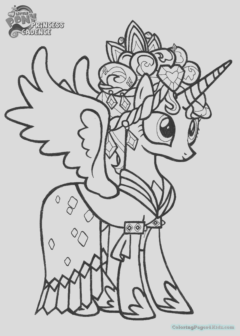 my little pony princess cadence coloring pages 101