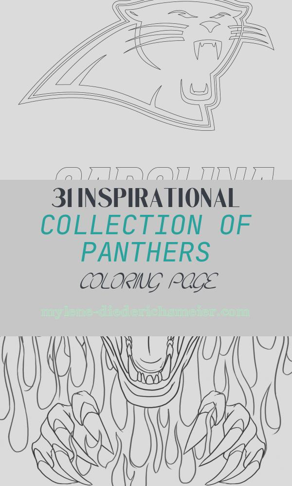Panthers Coloring Page Lovely Carolina Panthers Logo Coloring Page