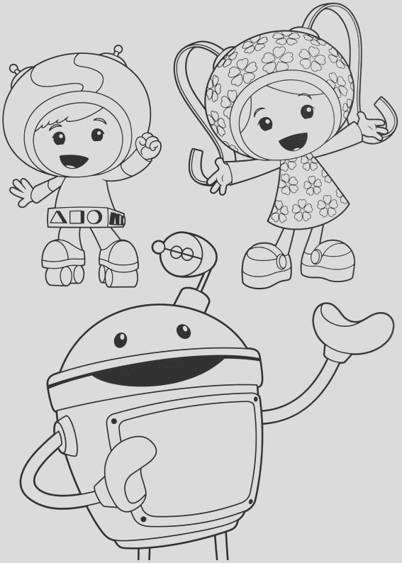 image=umizoomi Coloring for kids umizoomi 1