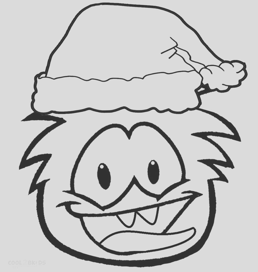 club penguin coloring pages puffles print