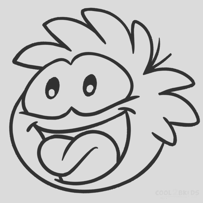 puffle coloring pages