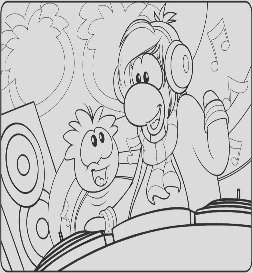 puffle coloring pages 440