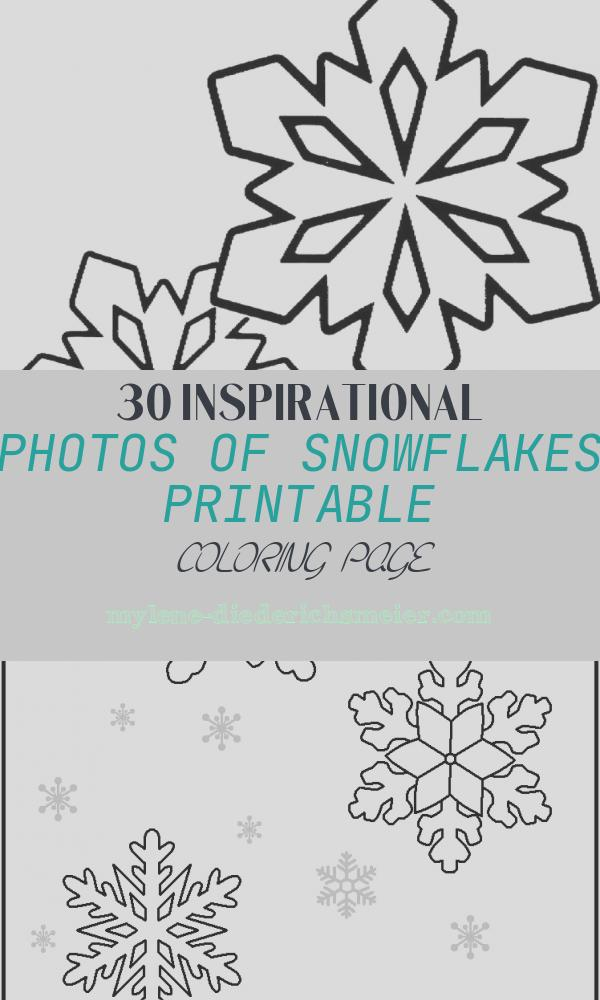 Snowflakes Printable Coloring Page Beautiful Free Printable Snowflake Coloring Pages for Kids