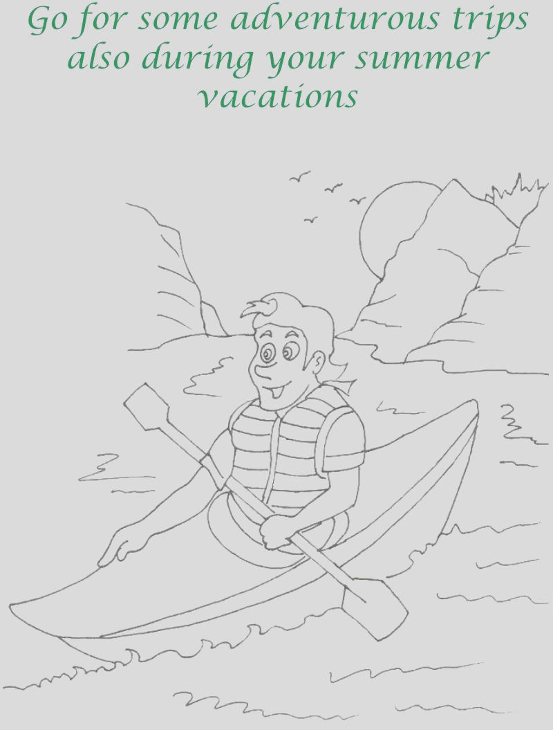 summer vacation printable coloring pages for kids 21 printable coloring pages