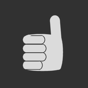 coloring page thumbs up i