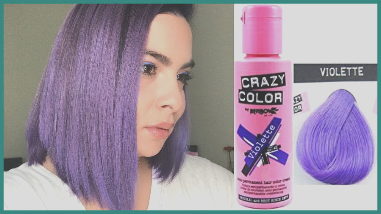 crazy colored hair