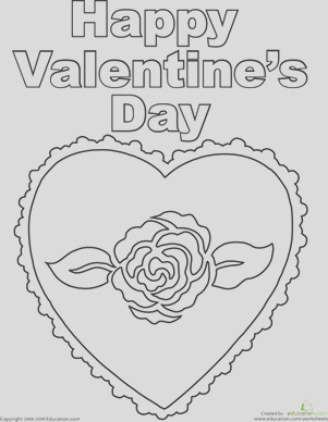 Color Valentines Page
