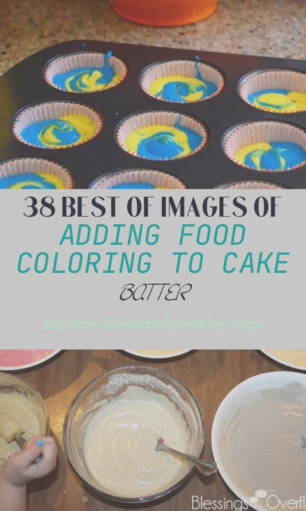 Adding Food Coloring to Cake Batter Awesome How to Add Food Coloring to Cake Batter Baking Bites