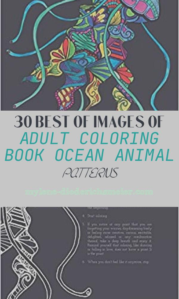 Adult Coloring Book Ocean Animal Patterns Lovely Adult Coloring Book Ocean Animal Patterns Blue Star
