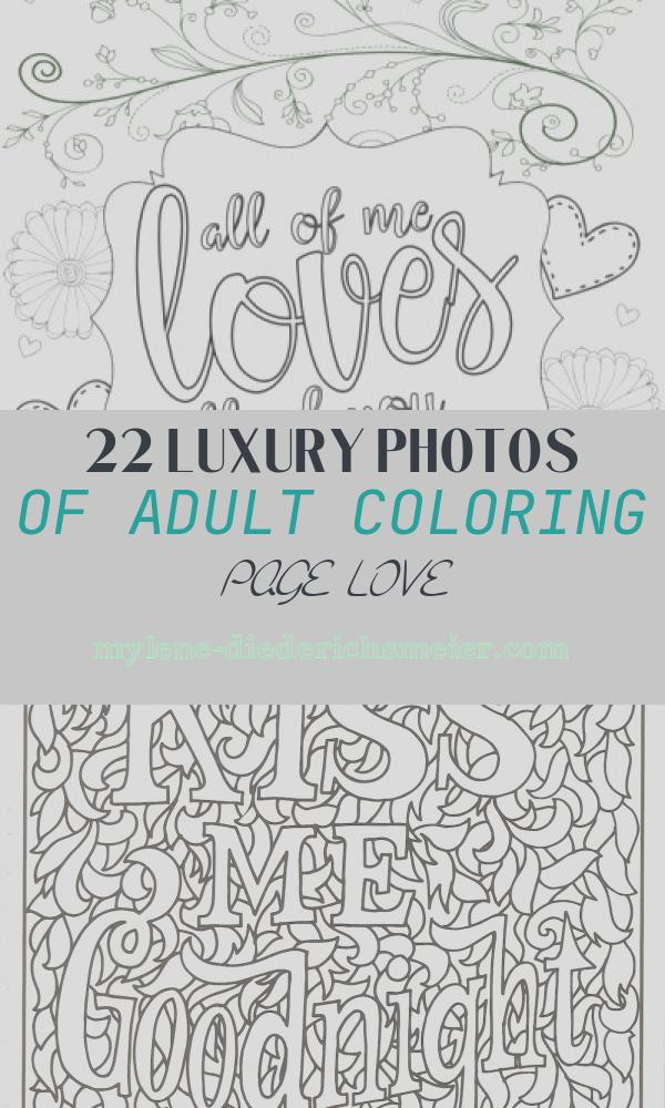 Adult Coloring Page Love Unique Adult Coloring Pages Archives the Girl Creative