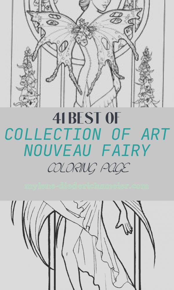 Art Nouveau Fairy Coloring Page Luxury Coloring Pages Angels and Shepherds 728
