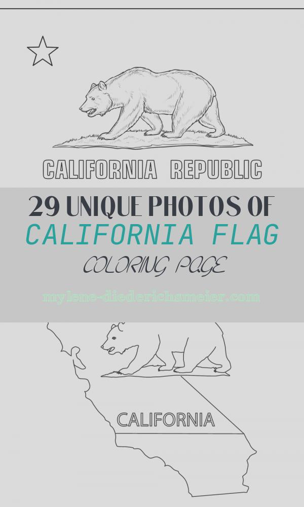 California Flag Coloring Page Fresh Flag Of California Coloring Page