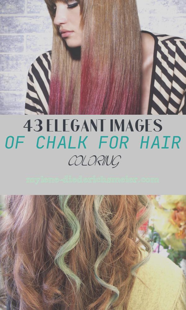 Chalk for Hair Coloring New How to Use Colored Hair Chalks Tips and Tricks