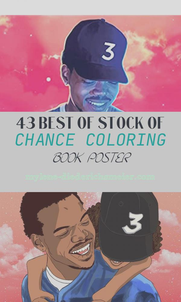 """Chance Coloring Book Poster Lovely Amazon Chance the Rapper Coloring Book Poster """"36"""