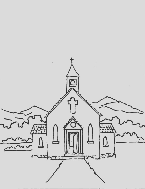 church people with faith coloring pages