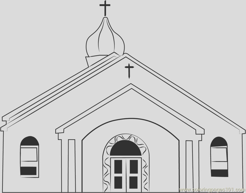 osterville baptist church coloring page