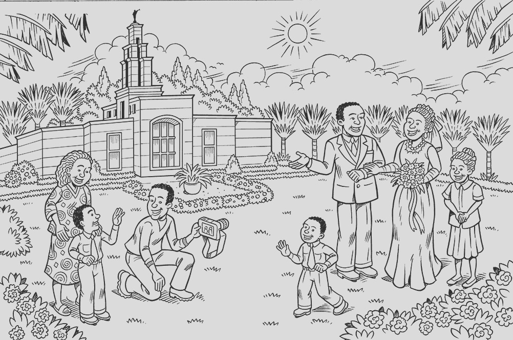 temple marriage coloring page lang=eng