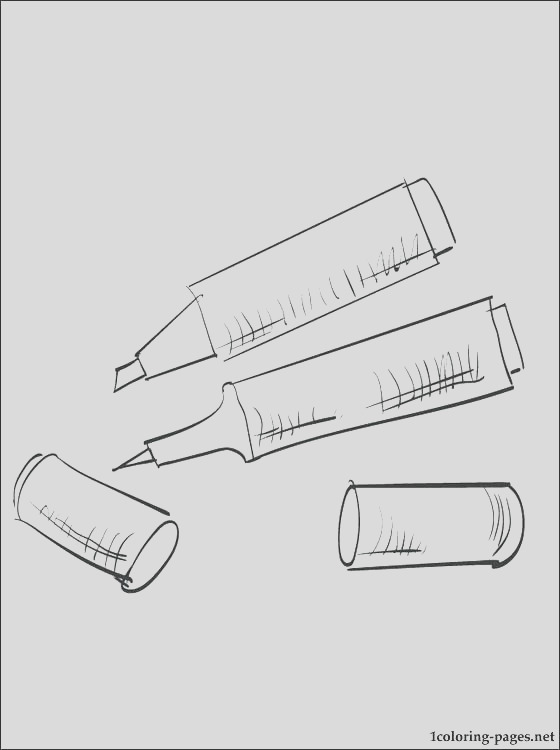 coloring pages for markers