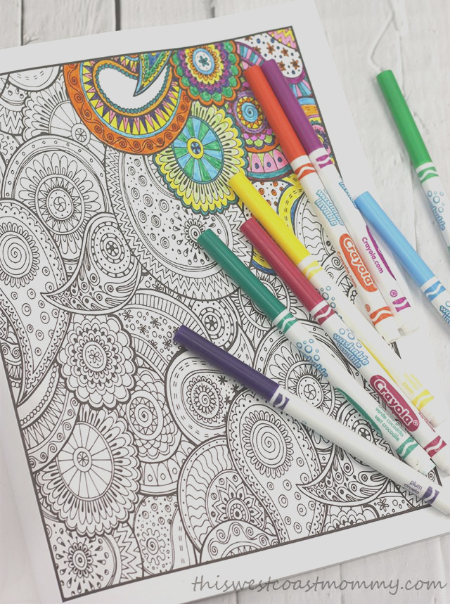 relax with adult colouring books from vintage pen press