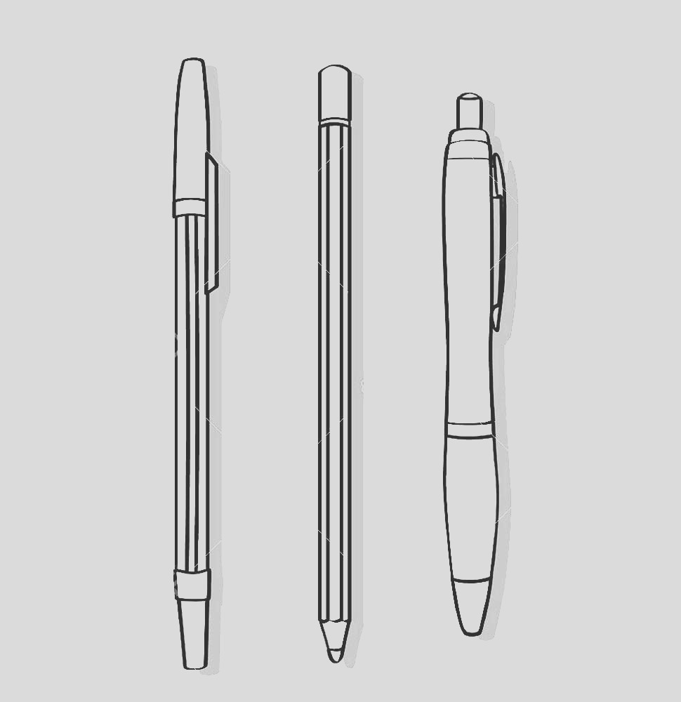 pen coloring pages