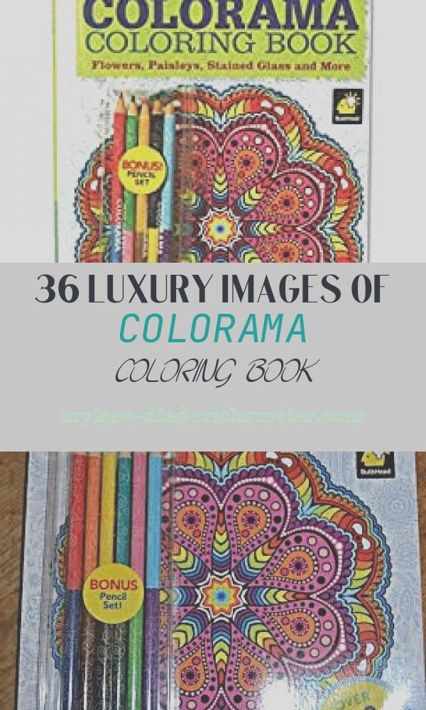 Colorama Coloring Book Fresh Amazon Colorama Coloring Book for Adults with 12