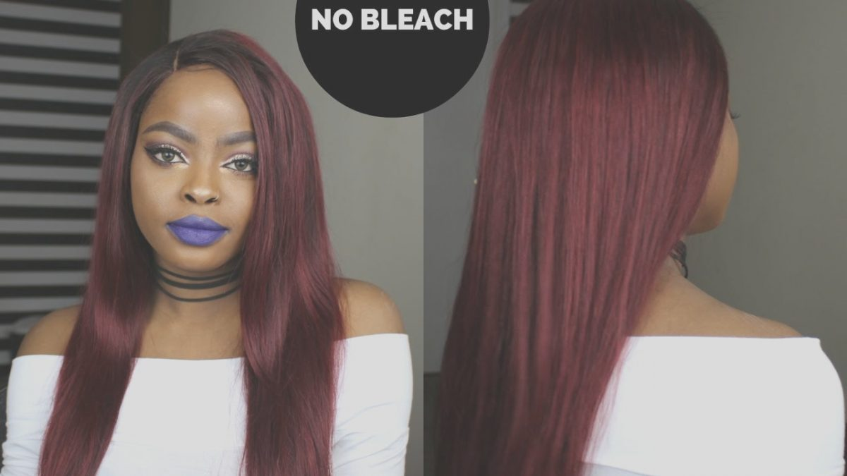 Coloring Black Hair without Bleach Luxury How to Dye Your Hair From Dark to Red without Bleach