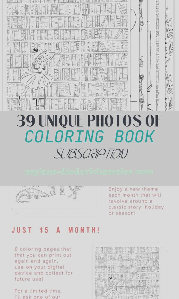 Coloring Book Subscription Inspirational Coloring Page Subscription – Sarah Jane Studios
