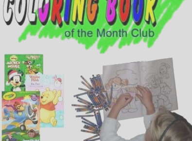 coloring book month club