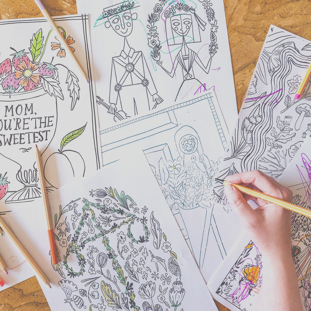 coloring page subscription