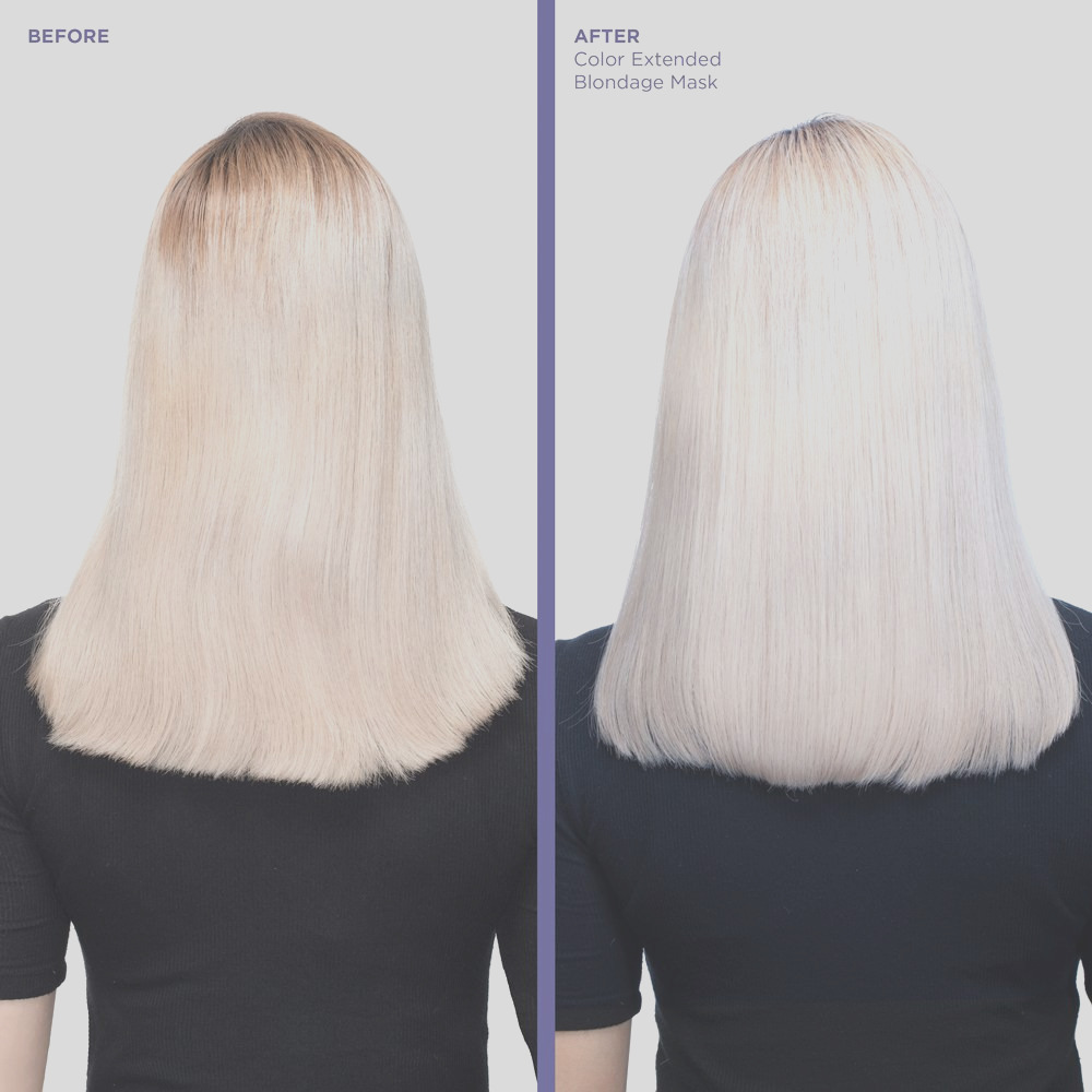 color extend blondage anti brass purple hair mask for blonde hair