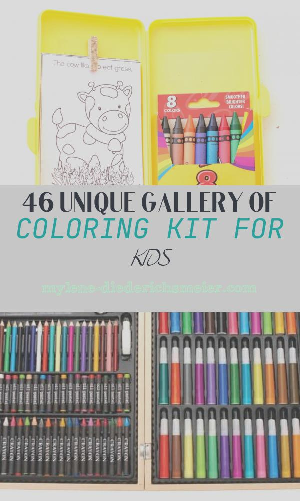 Coloring Kit for Kids Beautiful Diy Travel Coloring Kit for Kids with Free Printable