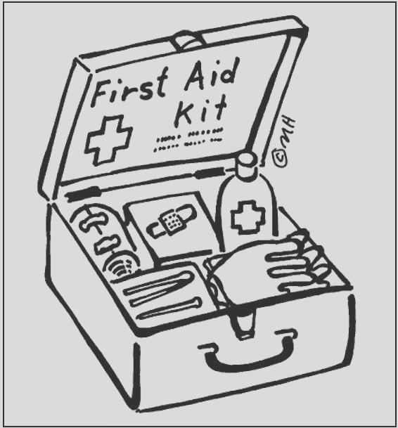 first aid coloring pages for kids