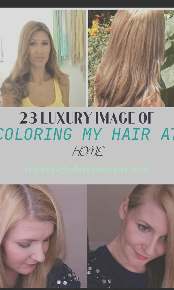 Coloring My Hair at Home Fresh How I Highlight and Color My Hair at Home