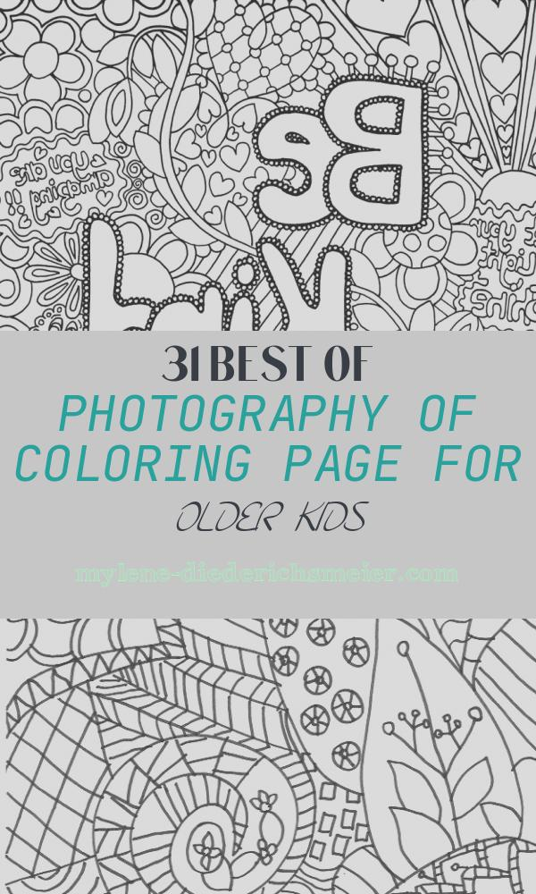 Coloring Page for Older Kids Fresh Difficult Coloring Pages for Older Children Coloring Home