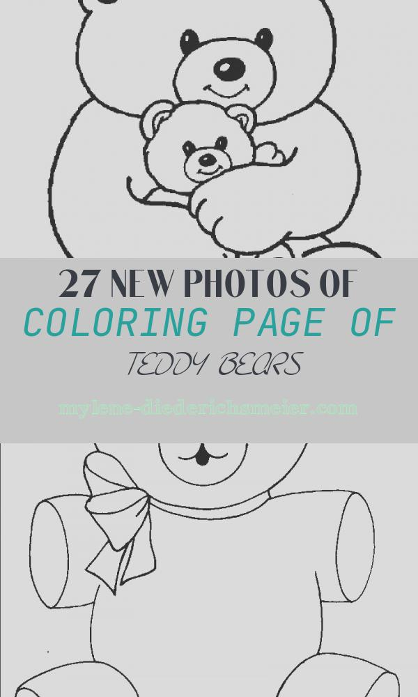 Coloring Page Of Teddy Bears Inspirational Teddy Bear Coloring Pages Disney Coloring Pages