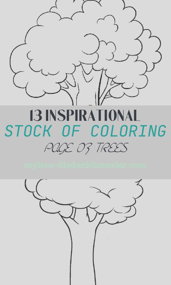 Coloring Page Of Trees Beautiful Free Printable Tree Coloring Pages for Kids