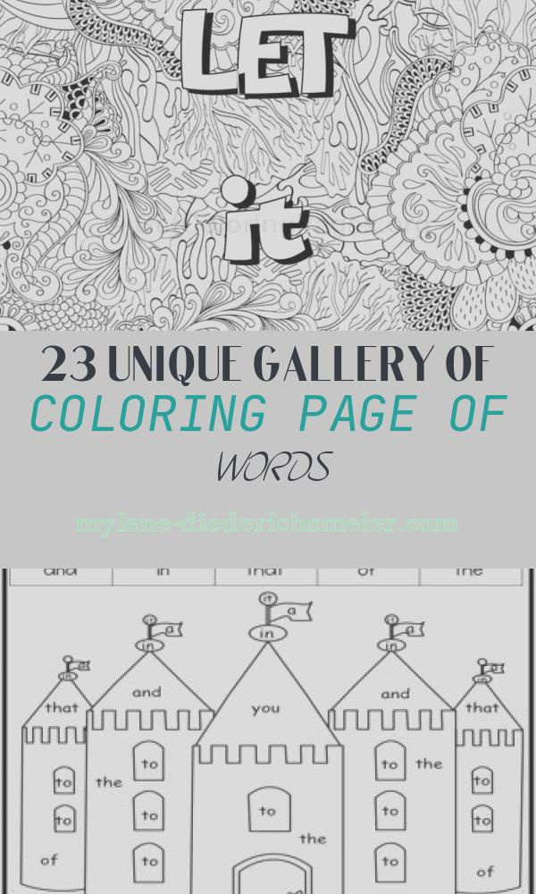 Coloring Page Of Words Luxury Inspirational Word Coloring Pages 70 – Getcoloringpages