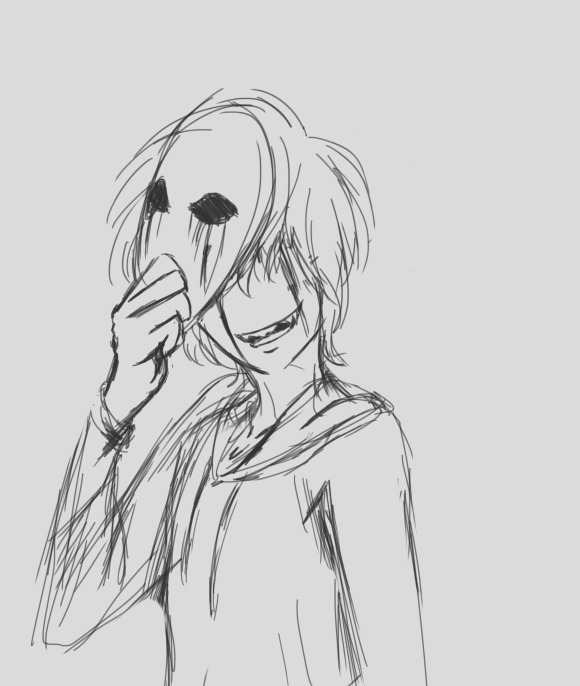 eyeless jack drawing