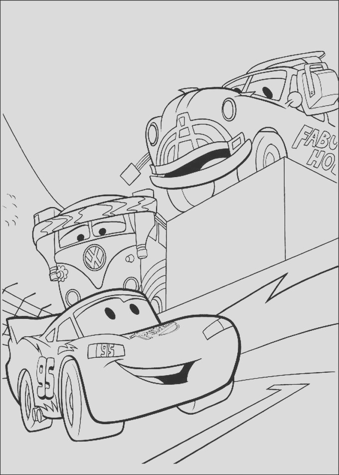 disney cars 2 coloring pages