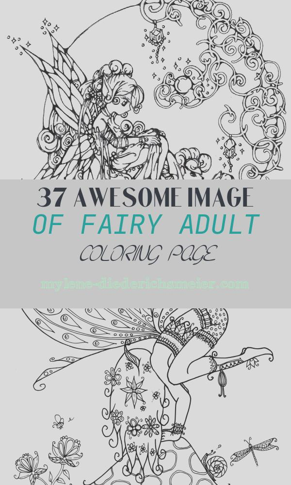 Fairy Adult Coloring Page Beautiful Fairy Coloring Pages