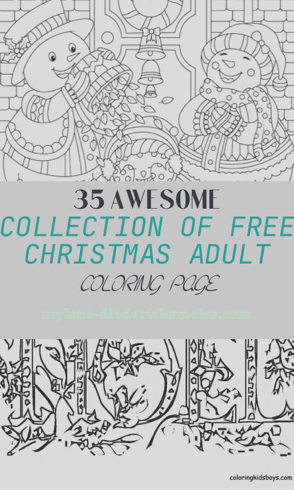 Free Christmas Adult Coloring Page Awesome 22 Christmas Coloring Books to Set the Holiday Mood
