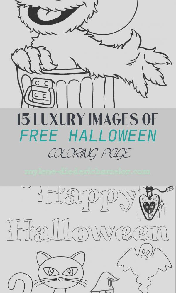 Free Halloween Coloring Page Best Of Free Archives