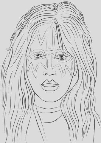 ace frehley from kiss band