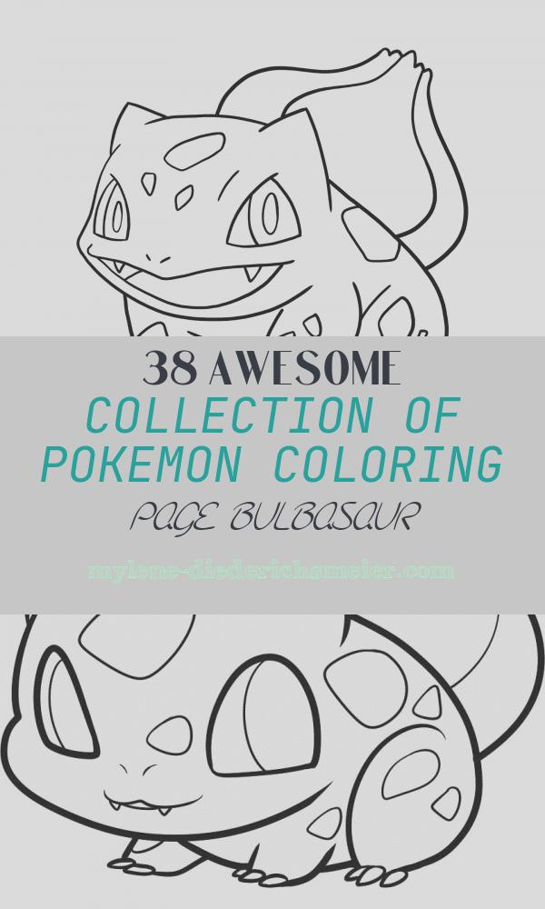 Pokemon Coloring Page Bulbasaur Best Of Bulbasaur Coloring Pages Free Pokemon Coloring Pages