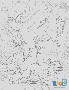 rio 2 colouring pages