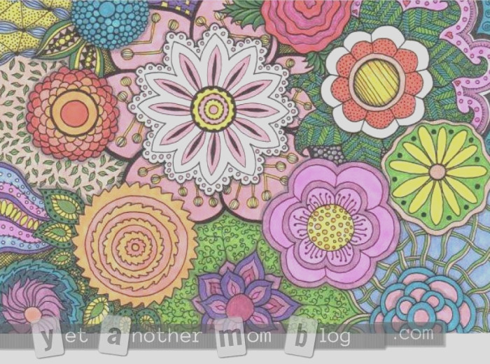 free adult coloring pages and a give away
