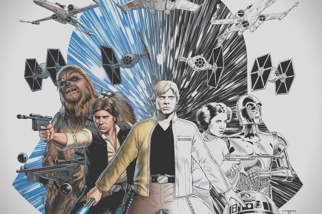 marvel x star wars adult coloring books